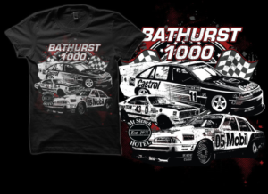 T Shirt Design (Design #7434930) Submitted To Bathurst 1000 Holden Car Race