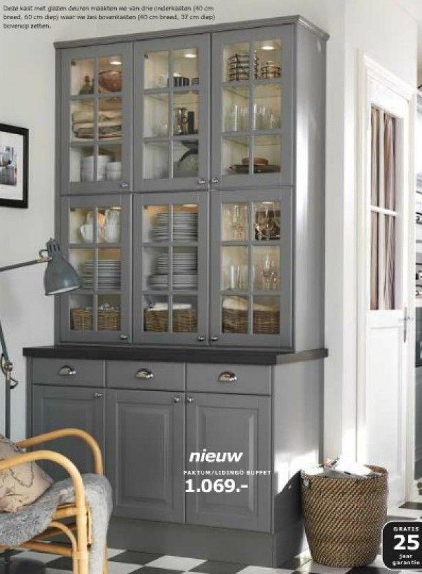 Ikea Faktum Lindingo Buffet Kast Wat Een Prachtig Plaatje Pantry