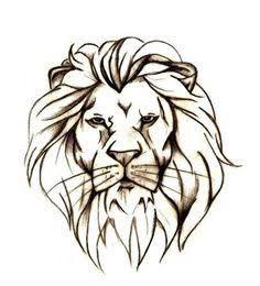 Simple Lion Tattoo Google Search Lion Head Tattoos Lion Tattoo Design Tattoo Design Drawings