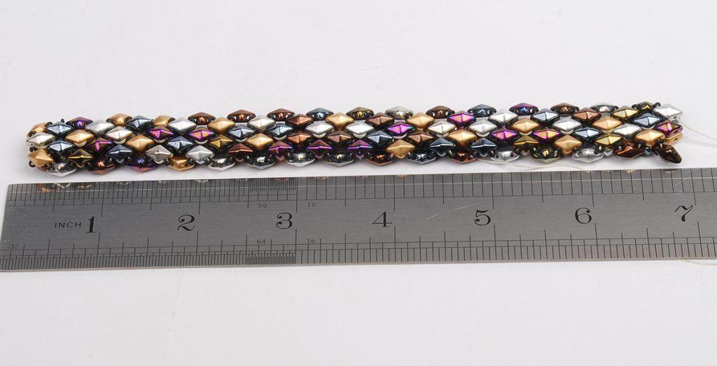 Free Bead Weaving Instructions Diamonduo And Demi Round Seed Bead