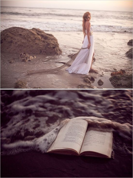 <3 Reading and the ocean go hand in hand <3