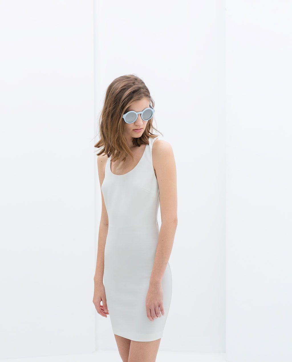 Le Croisée Zara Dans Trf Robe Dos fZqfBSUH