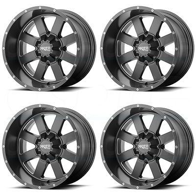 17 Moto Metal Mo962 Gray Milled 17x10 8x180 Wheels Rims Lifted Chevy Lifted Chevy Trucks Hot Rods Cars Muscle