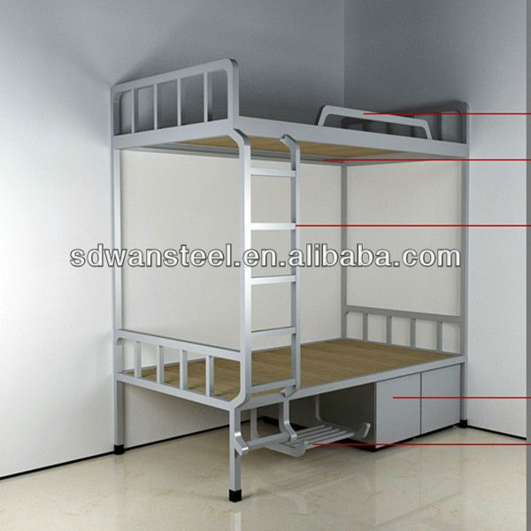 Metal Double Bunk Bed Adult Metal Bunk Beds Steel Army Bunk Bed 100