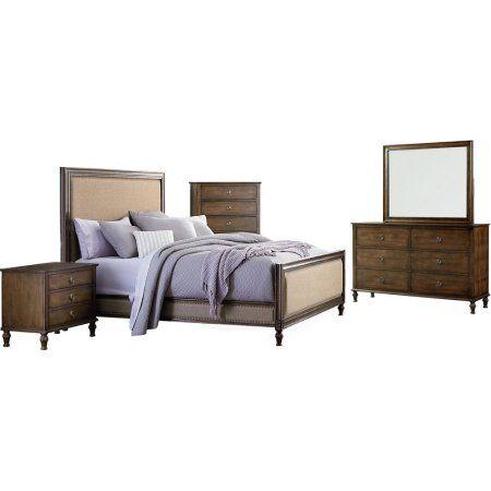 Cambridge Drexel Queen-Size Bedroom Suite, Gray Products