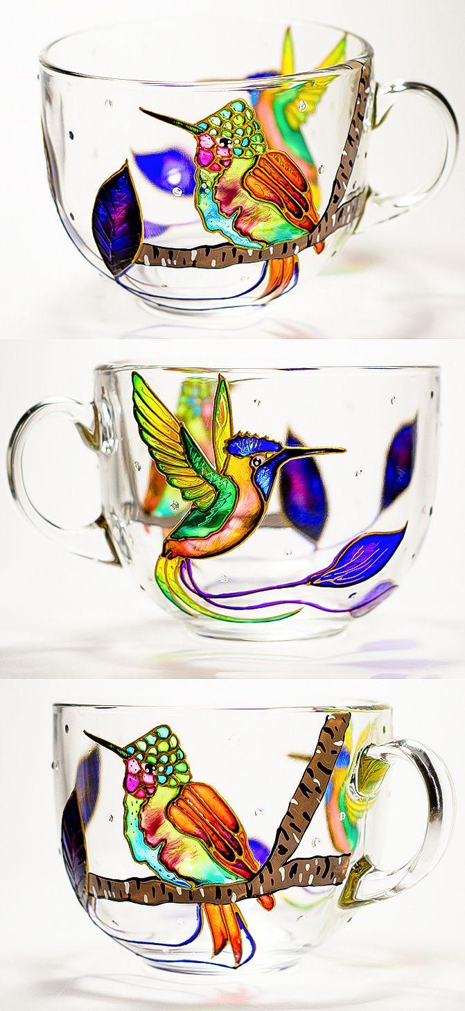 Coffee Mug Hummingbird, Mother\'s Day Gift Coffee Mug Mom, Grandma ...