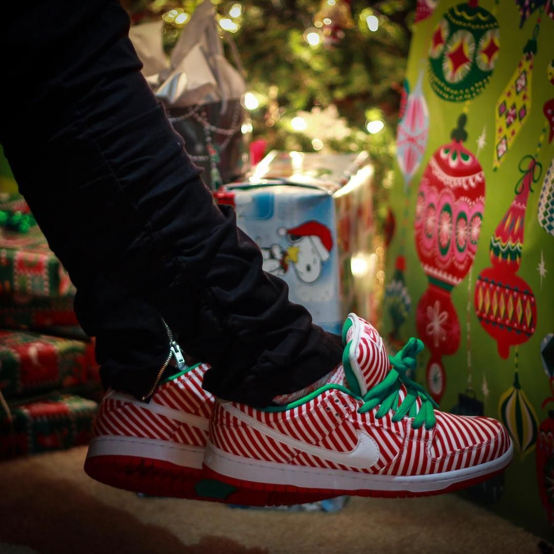 outlet store f47ae edbd1 nike dunk low sb candy cane