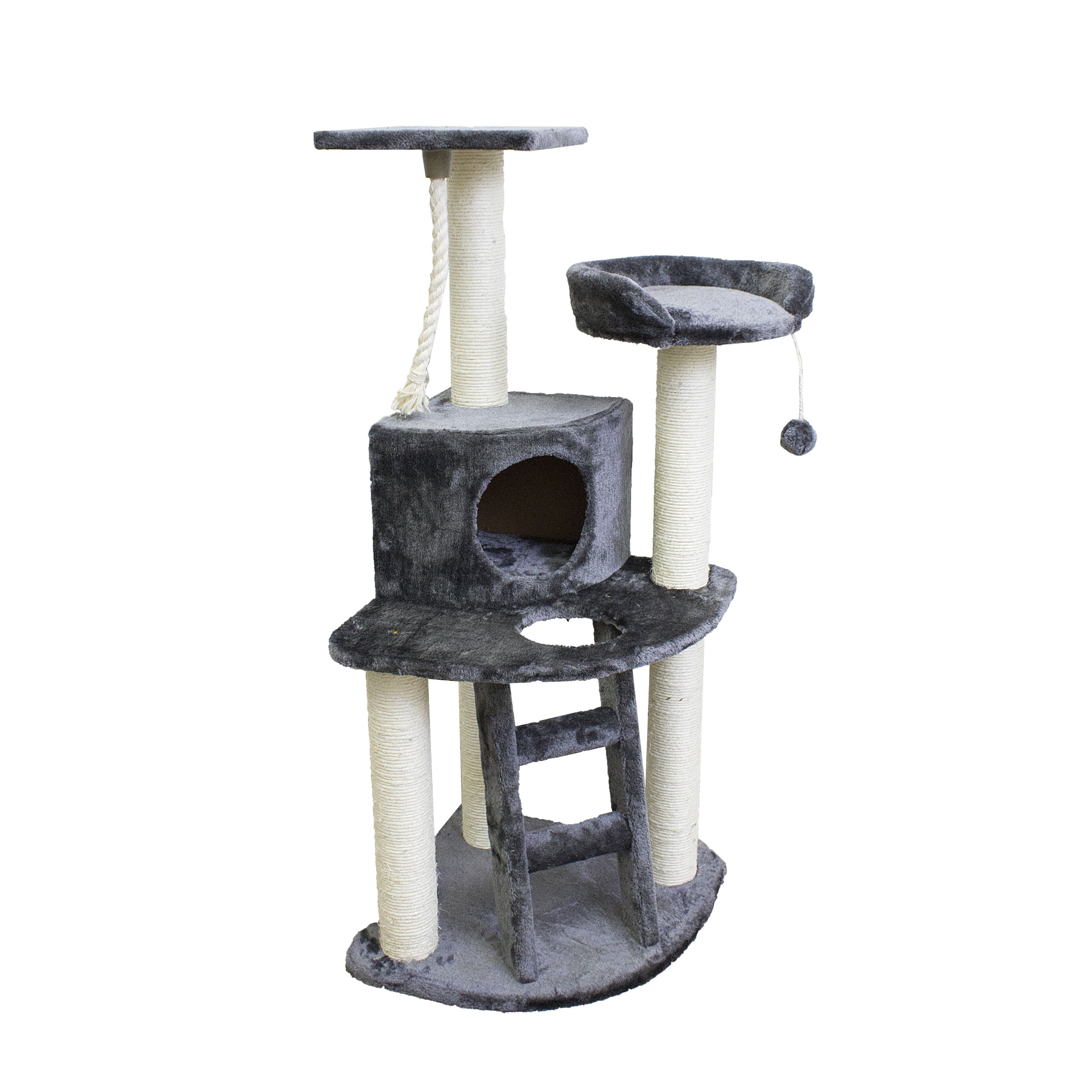 Give your cat the t of entertainment with this cat tree offering