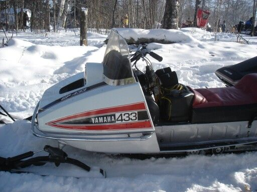 Tamarack To Lawler Mn Vintage Snowmobile Run Vintage Sled Snowmobile Snow Vehicles