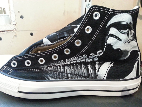 Star Wars Storm Troopers Custom Converse All Stars | The