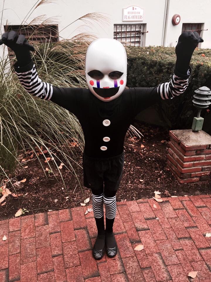 Marionette from Five Nights At Freddy\u0027s Costume Super easy to make
