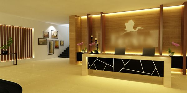 for Design hotel reception