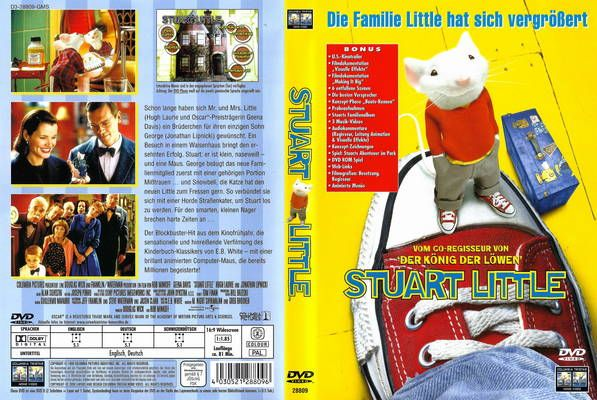 Stuart Little 1998 German Dvd Front Cover Id54479 American Girl Doll Crafts Stuart Little Barbie Printables