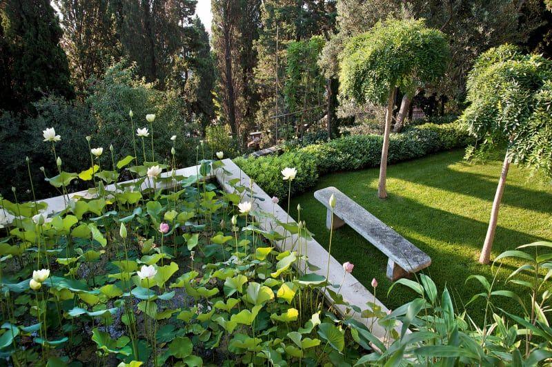Paolo Pejrone Garten, Garten design und Pergola