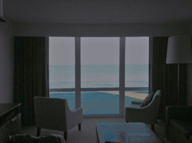My favorite view from the Oceanaire Resort in Virginia Beach where I did a 2015 reflection week stay