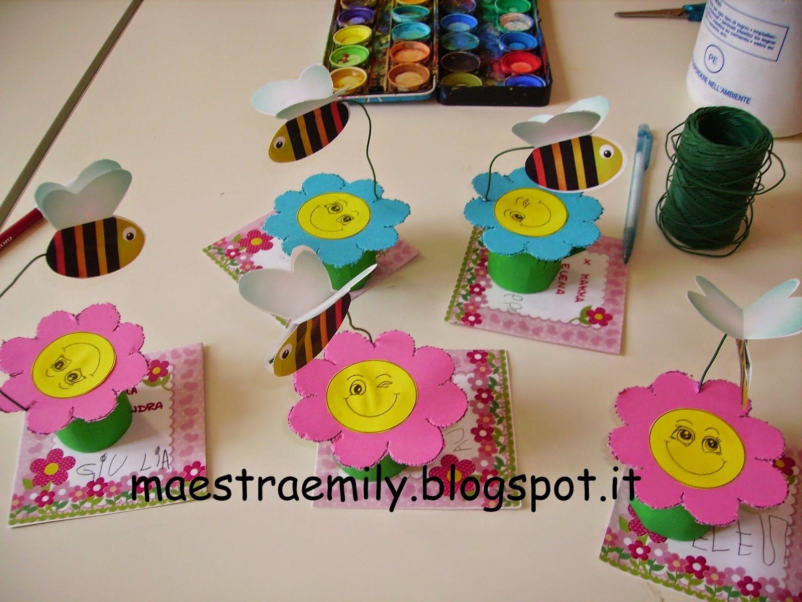 Lavoretti api pinterest cerca con google primavera for Lavoretti di primavera
