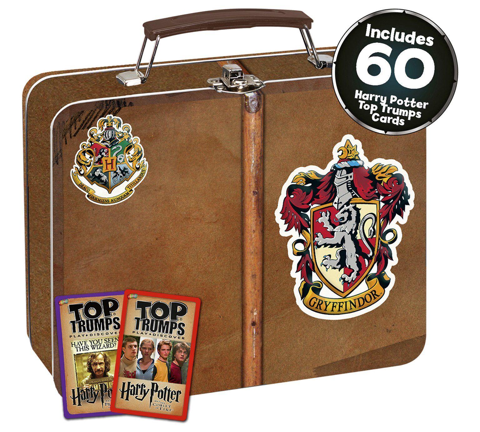 Buy harry potter gryffindor top trumps collectors tin card