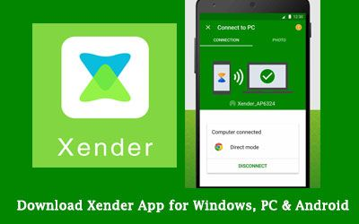 Download Xender App for Windows, PC, Android apk and web