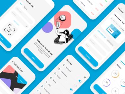 Dashboard Overview Logo Design Tutorial App Design Wallet