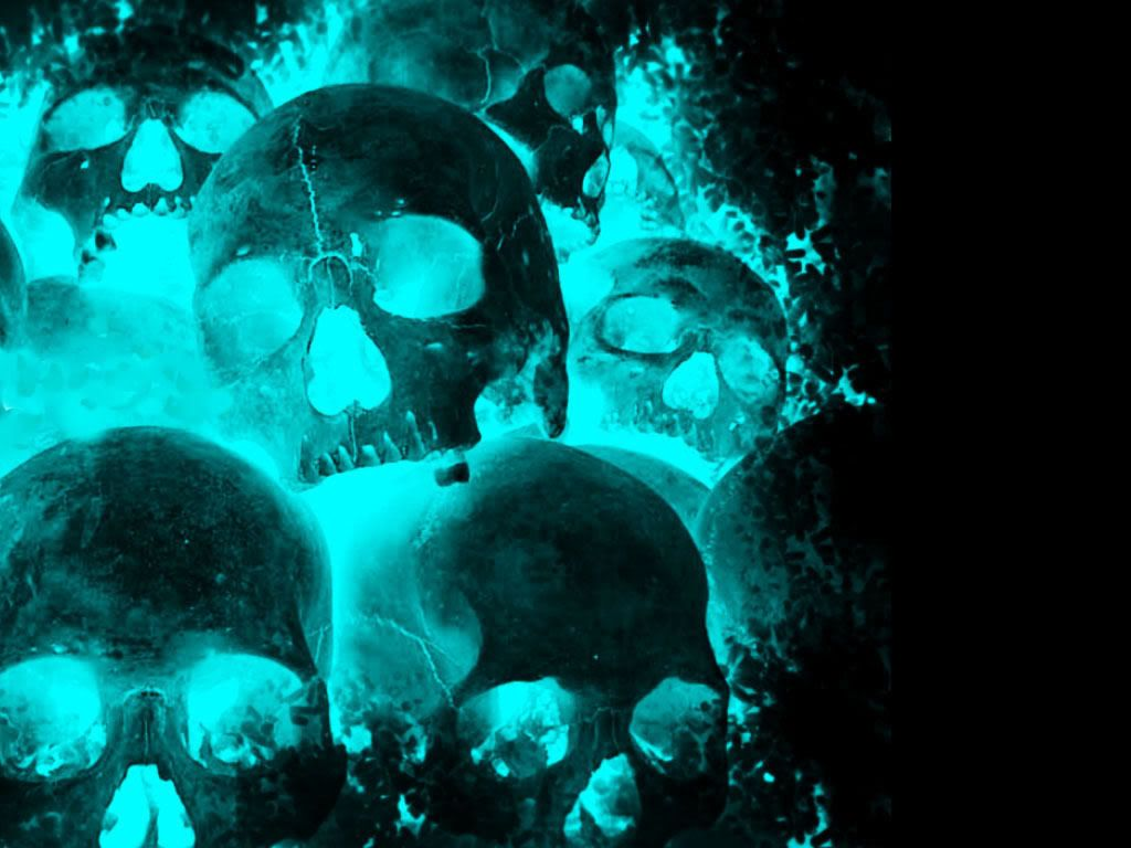 Glowing Wallpaper Glowing Skulls Wallpaper Download The