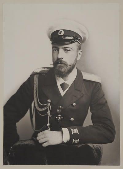 Grand Duke Alexander Sandro Mikhailovich Romanov 13 Apr 1866 26