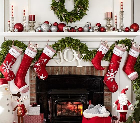 Classic Quilted Stocking Collection | Pottery Barn Kids ... : pottery barn quilted stocking - Adamdwight.com