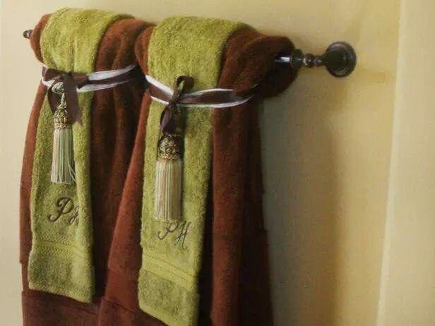 19 Things You Saw Every Single Time You Went To Grandma S House Decorative Towels Bathroom Towels Bathroom Towel Decor