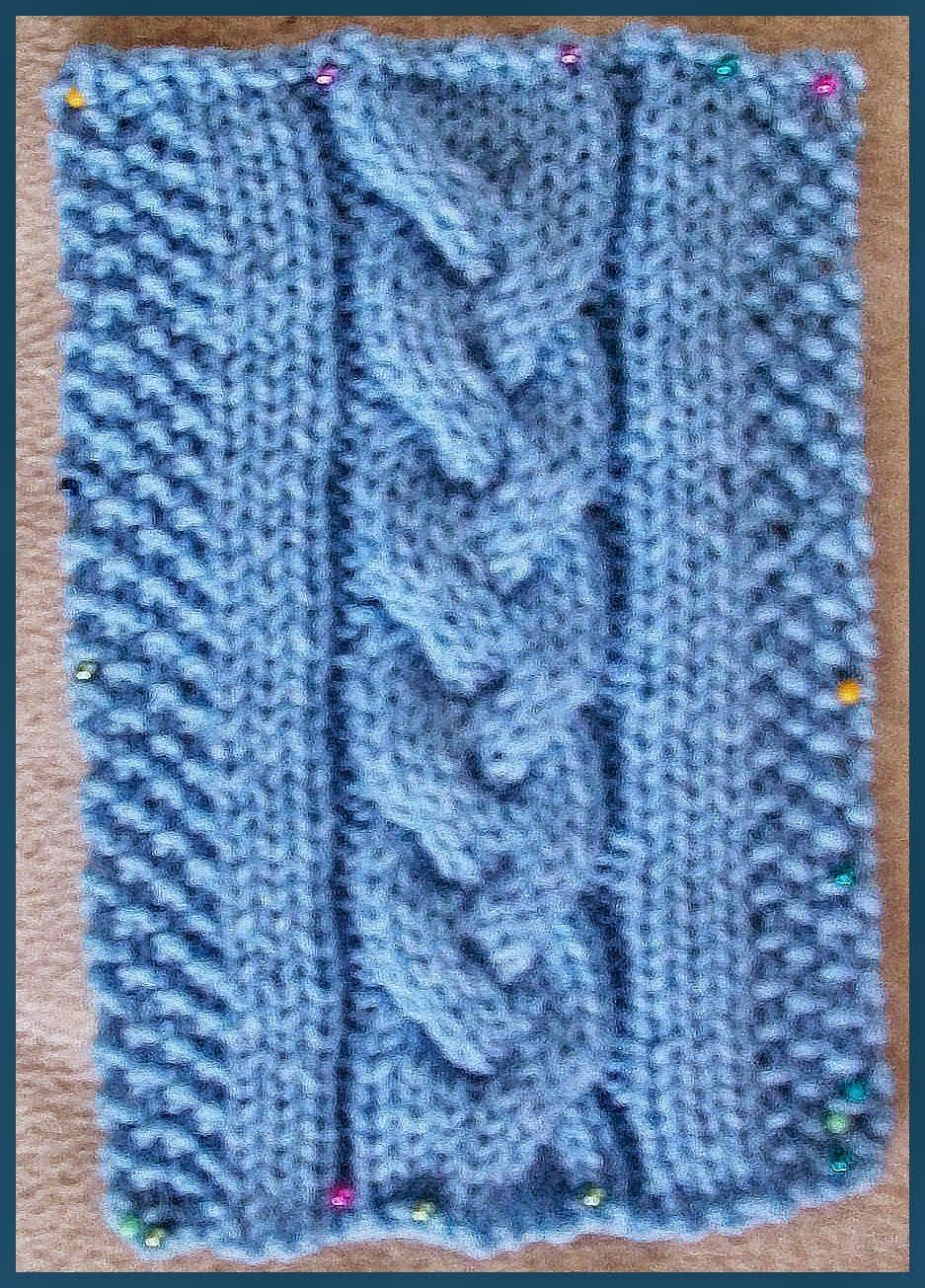 Knitting Patterns for the beginner or the advanced knitter: 3 Strand ...