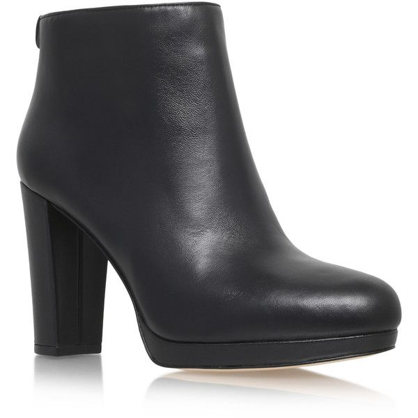 Michael Michael Kors Sammy Platform Bootie Boots ($140) ❤ liked on Polyvore featuring shoes, boots, ankle booties, black, platform ankle booties, black platform boots, platform bootie, black boots and bootie boots