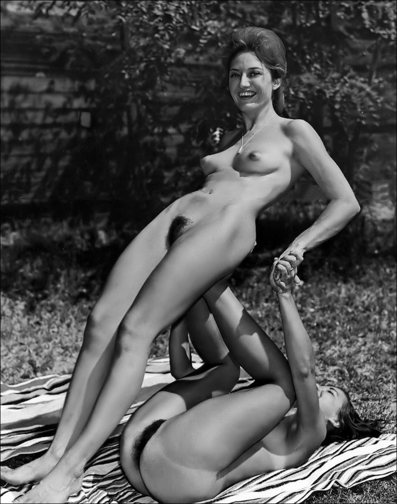 retro nudist women The Greatest Classic Nudist Photos Anywhere.