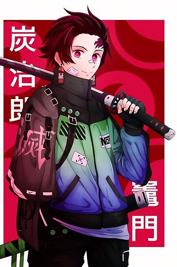 Tanjiro Kamado Demon Slayer Poster