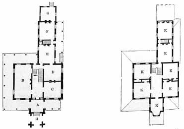 Gothic House Plans American