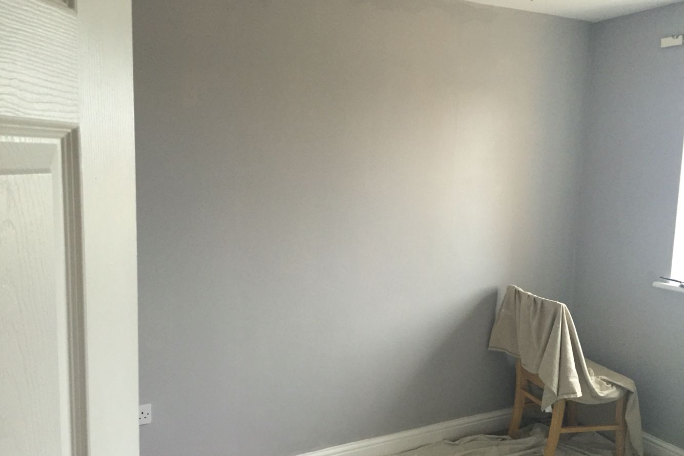 Painting The Sewing Room Dulux Chic Shadow Chic Shadow Dulux Chic Shadow Dulux