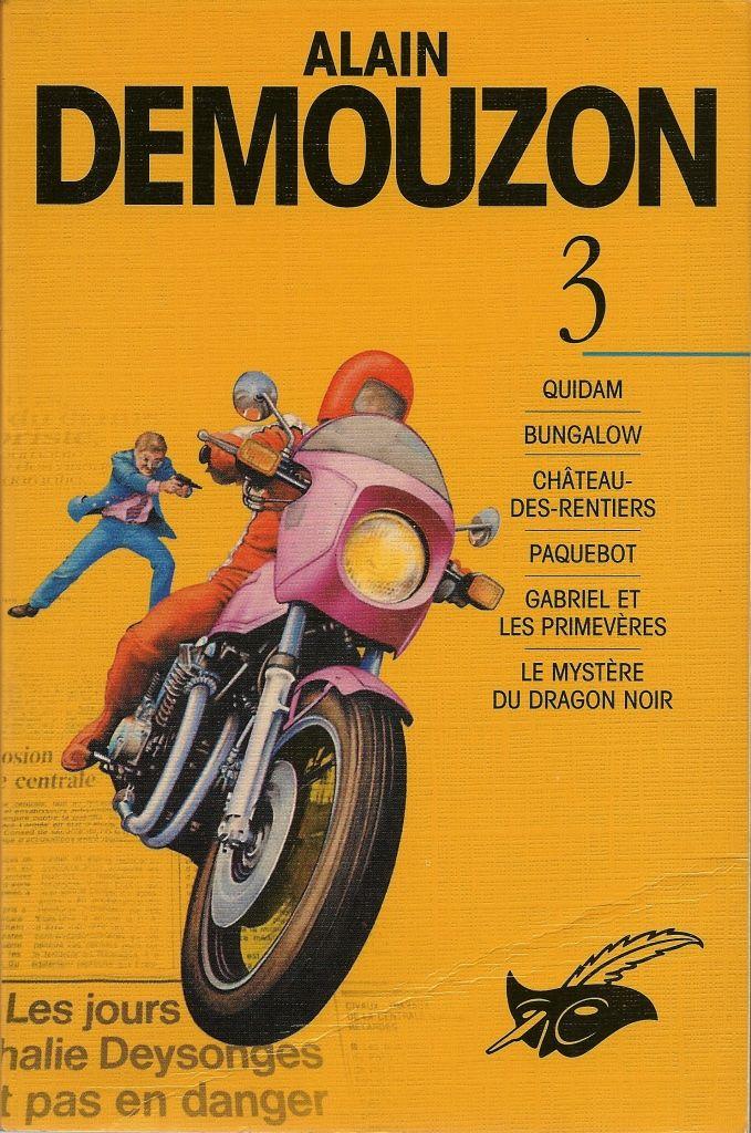 Les Intégrales du Masque - Alain Demouzon - Volume 3 - Recto - Septembre 1998