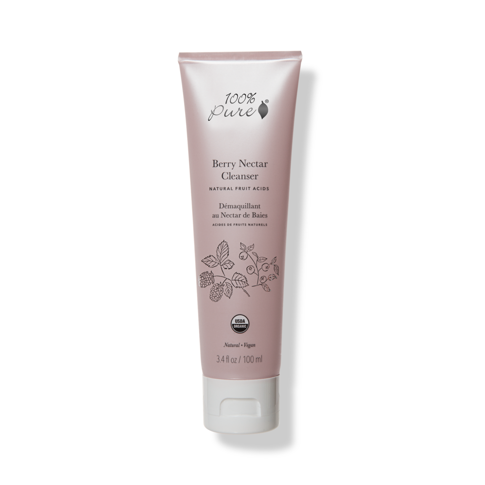 Berry Nectar Nourishing Cleanser 100percentpure Facial