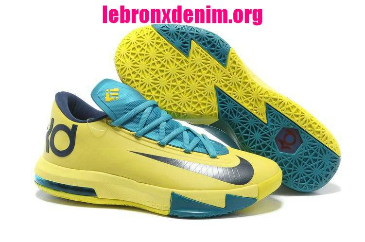 Discount Price at Nike Zoom KD 6 Yellow Teal Navy shoes. Our store sale  cheap kd 6 yellow teal navy shoes. Buy now!