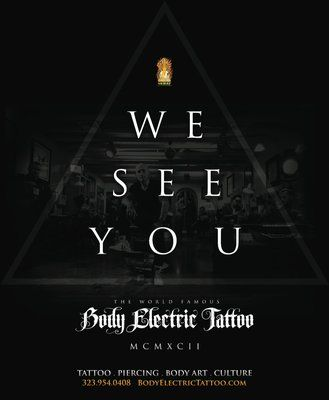 Body Electric Tattoo & Piercing 7274 1/2 Melrose Ave Los Angeles, CA 90046