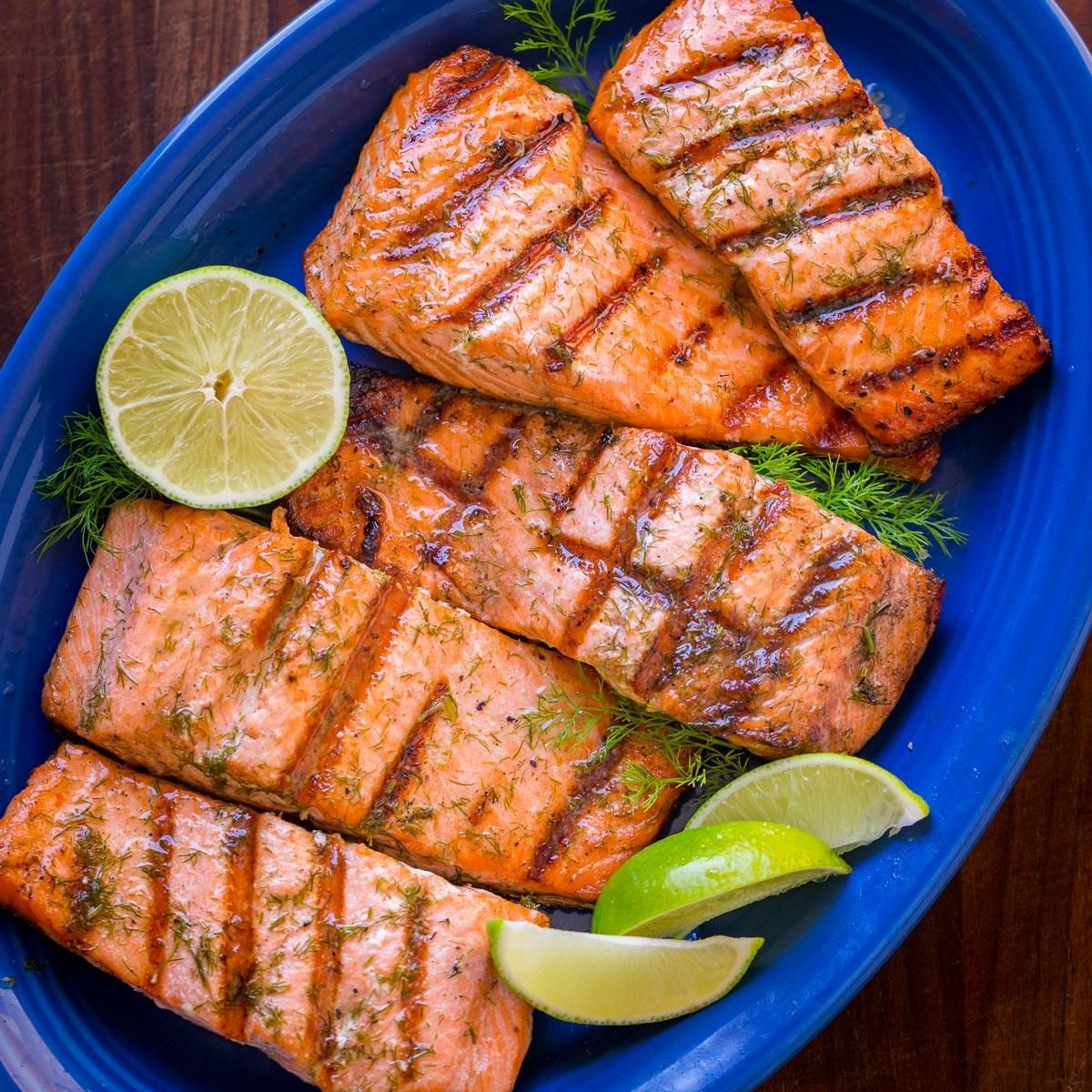 Grilled Salmon Recipe (How to Grill Salmon)