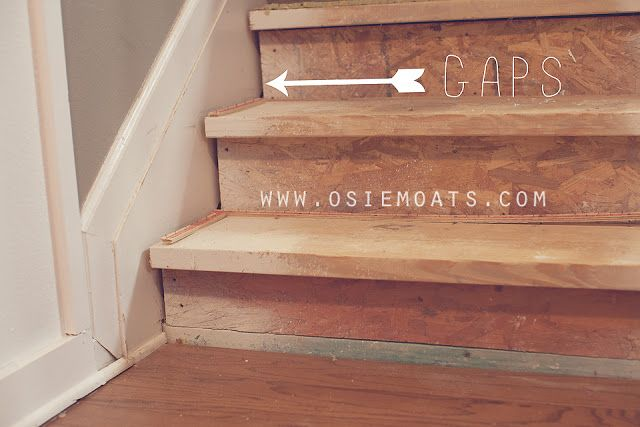 Best How To Fix Gaps In Unfinished Stairs Diy 50 Stair 400 x 300