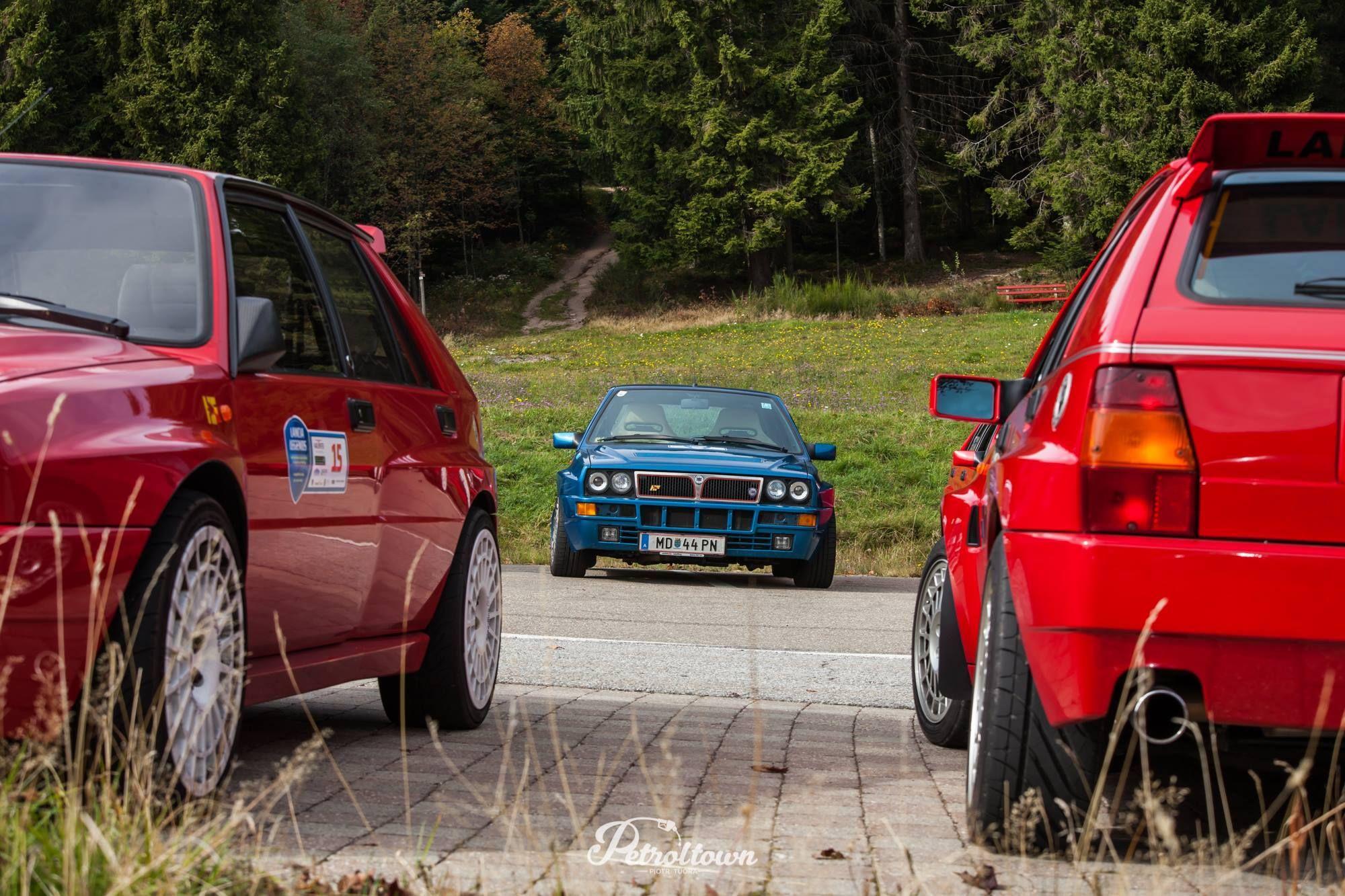 Pin di Billing András su Lancia Delta HF Integrale Evo Evo