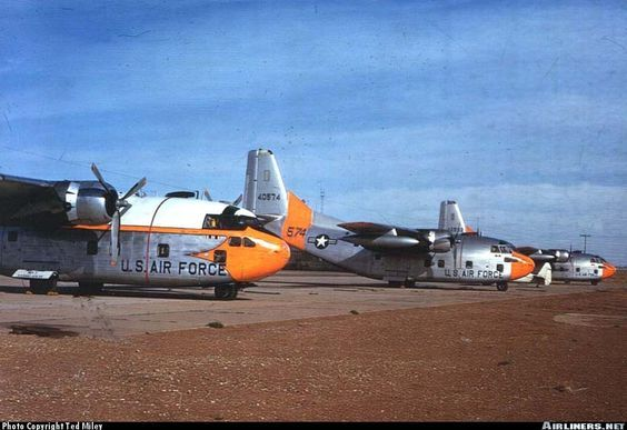Fairchild C-123B Provider - USA - Air Force | Aviation Photo #0183197 | Airliners.net: