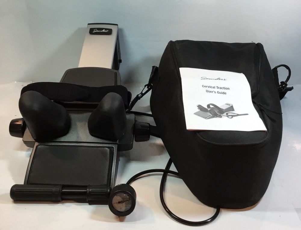 Details About Saunders Cervical Traction Device W Carrying