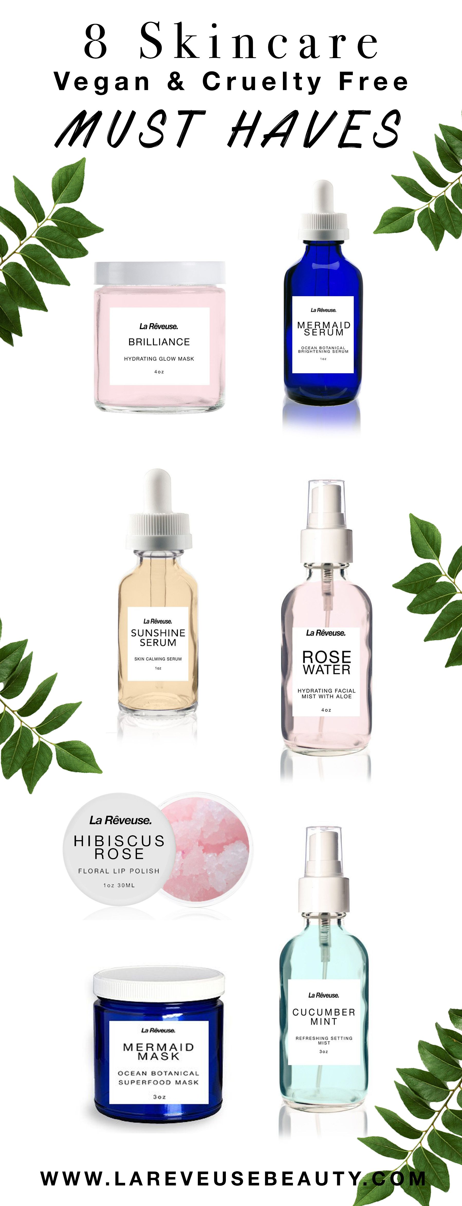 Cruelty Free Skincare Must Haves From Www Lareveusebeauty Com Cruelty Free Skin Care Organic Skin Care Skin Care