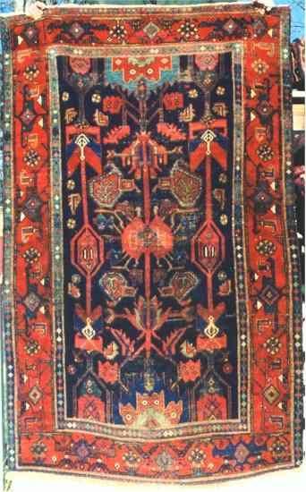 Bahktiari Rugs Semi Antique Chahar Mahal Bakhtiari Persian