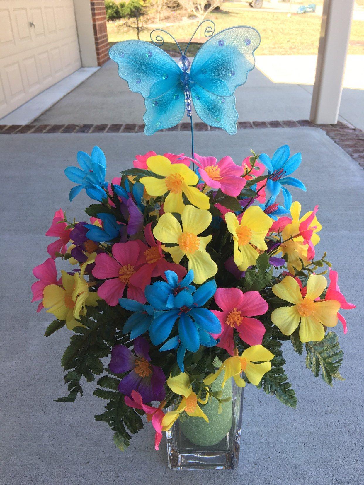 Cemetery flowersmemorial flowerscemetery vase insert