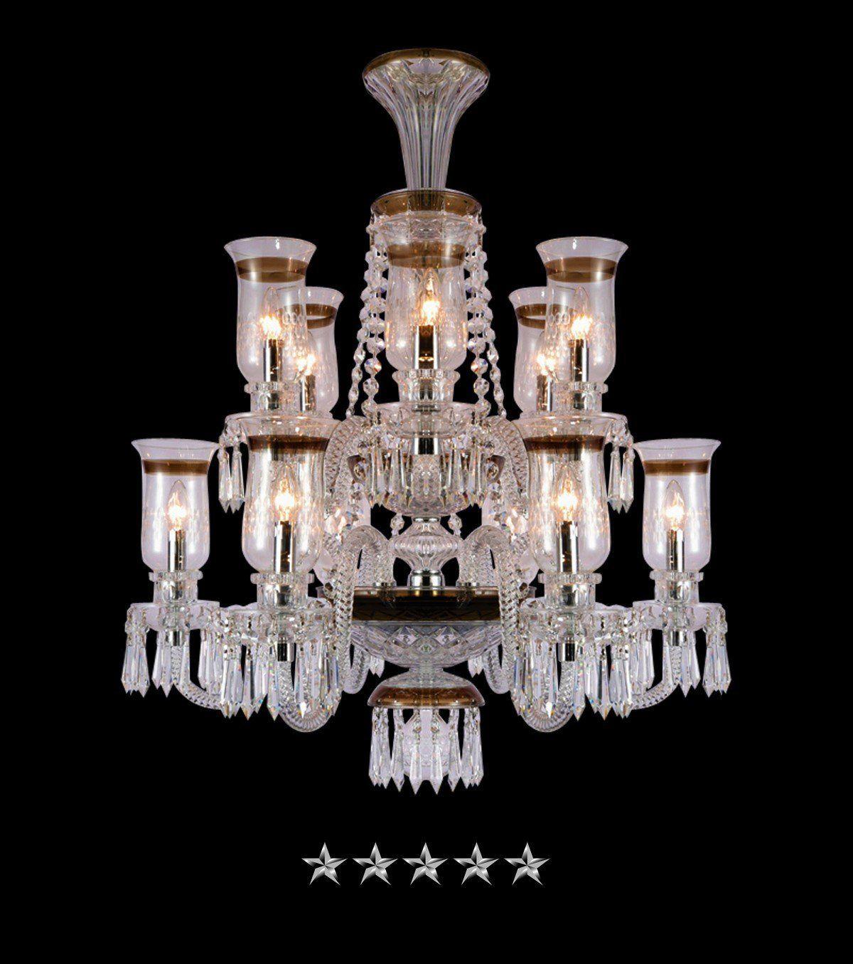 Saint Louis Hurricane Royale 12 Light Crystal Chandelier