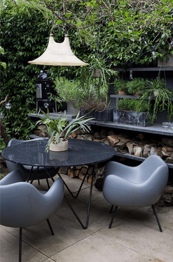 Pin de Mona en Outdoor Living | Pinterest | Terraza jardin, El verde ...