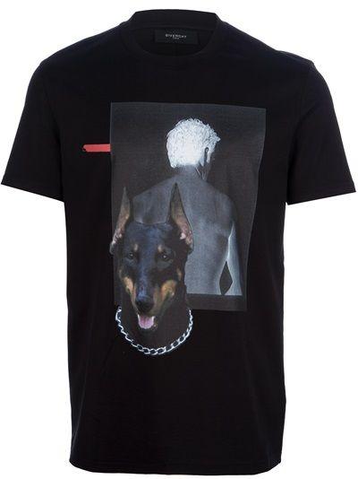 80c95f4a853 GIVENCHY Printed T-Shirt | Farfetch Wonderful Store | Designer ...