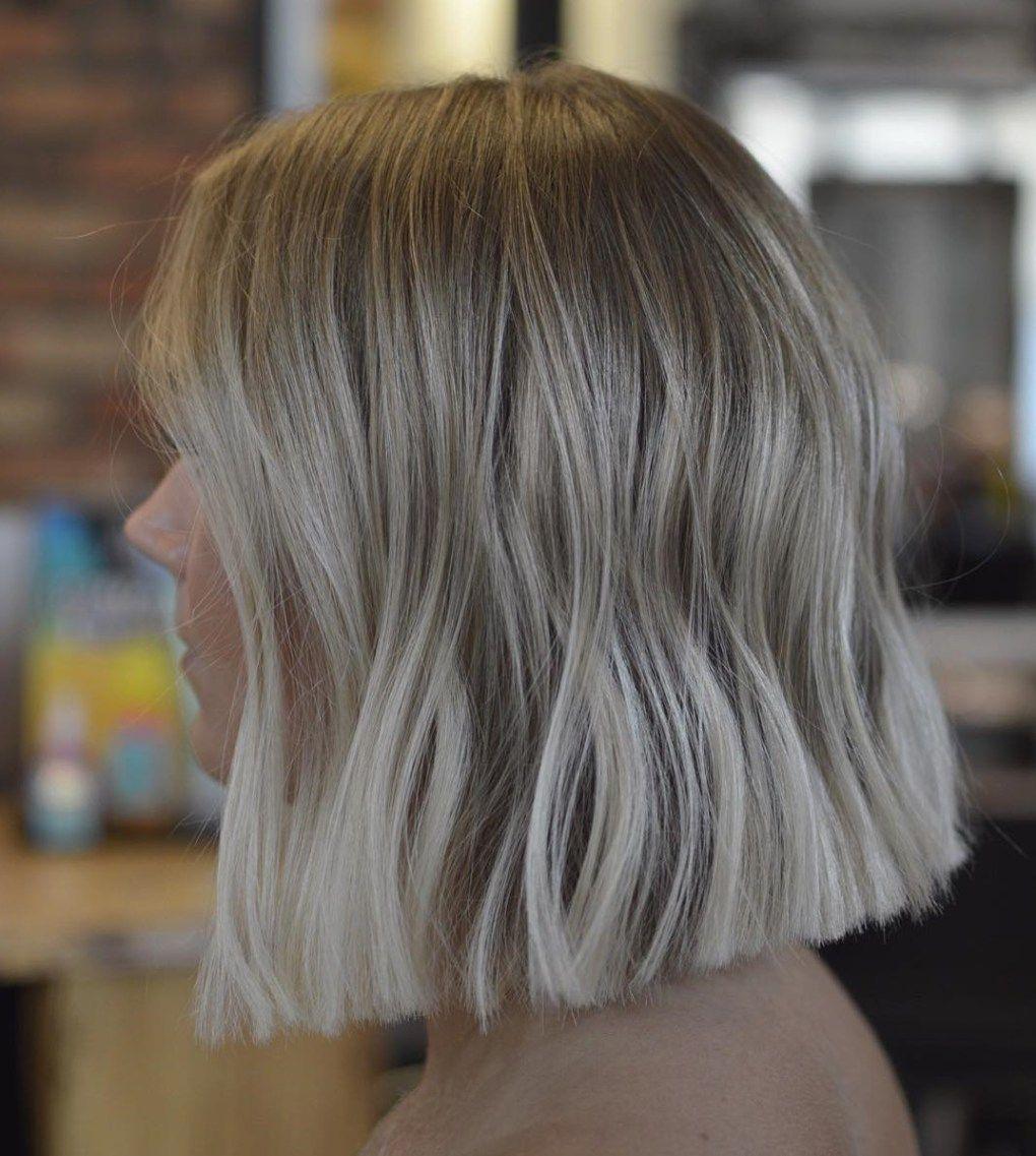 21++ Shoulder length blunt cut inspirations