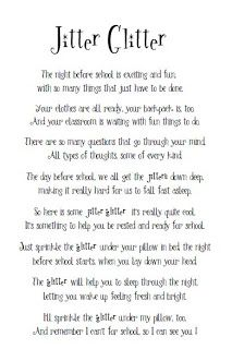 glitter poem